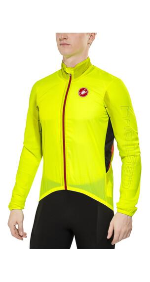 Castelli Velo Jacket Men yellow fluo